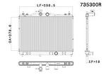 Radiador de Resfriamento - Valeo - 735300R - Unitário