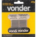 Estanho em Fio 1,2mm x 1m - Vonder - 74.38.604.020 - Unitário
