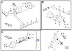 Kit de Sensores da Posição da Caçamba - Volvo CE - 16810095 - Unitário