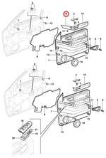 Moldura do Descanso de Braço - Original Chevrolet - 15992046 - Unitário