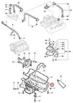 Cárter de Óleo do Motor - Original Chevrolet - 12559516 - Unitário