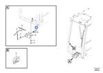 Motor do Limpador do Para-Brisa - Volvo CE - 14657676 - Unitário