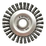 Escova de aço trançada temperada 114,3x6,35mm - Norton - 66623376388 - Unitário