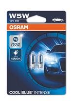 Lâmpada Cool Blue Intense W5W - Osram - 2825CBI - Par