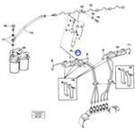 Arruela do Injetor de Combustível - Volvo CE - 11030703 - Unitário