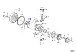 Eixo de Manivelas - Volvo CE - 21351218 - Unitário