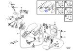 Suporte da Alavanca de Direção - Volvo CE - 17314462 - Unitário