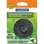 Carretel 1 Fio de Nylon para Aparador de Grama 1,8Mm X 8M - Tramontina - 78799463 - Unitário