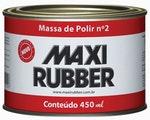 Massa Polir Nº 2 6MH014 490ml - Maxi Rubber - 6MH014 - Unitário
