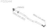 Barra de Ligação de Direção - Della Rosa - P02644 - Unitário