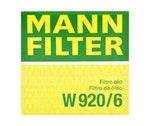 Filtro de Óleo Lubrificante GRAND CHEROKEE 2004 - Mann-Filter - W 920/6 - Unitário