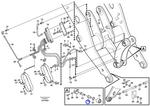 Parafuso - Volvo CE - 11176956 - Unitário