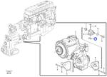 Porca Placa - Volvo CE - 4898544 - Unitário