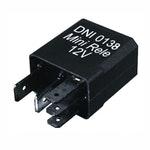 Mini Relé Auxiliar Reversor c/ Resistor MercedesBenz 3825450105/0045452905/0035420219-12V 5Terminais - DNI - DNI 0138 - Unitário