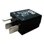 Mini Relé Auxiliar com Resistor Vw / Audi / Fiat / Gm / Mercedes-Benz / Mitsubishi - 12V 4 Terminais - DNI - DNI 0125 - Unitário