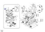 Kit da Almofada de Ar - Volvo CE - 14513762 - Unitário