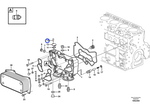 Parafuso - Volvo CE - 20555114 - Unitário