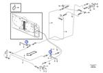 Sensor do Sistema de Extinção de Incêndio - Volvo CE - 11301795 - Unitário