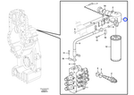 Porta-Filtro - Volvo CE - 11038833 - Unitário