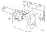 Filtro do Ar Condicionado - Volvo CE - 11164505 - Unitário