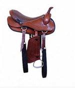 Sela Americana Para Cavalgada Luxo - Completa - Selaria Marçal - 00026 - Unitário