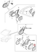 Espelho do Retrovisor Externo - Original Chevrolet - 93313321 - Unitário