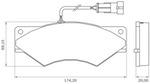 Pastilha de Freio - BB 339-A - Bosch - 0986BB0142 - Par