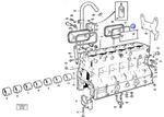 Tampas do Bloco - Volvo CE - 3978045 - Unitário