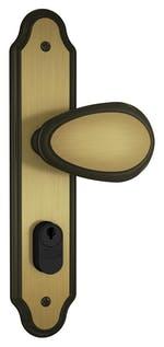 Fechadura Externa com Maçaneta Taco de Golf 803/10 Espelho Oxidado - Stam - 35013 - Unitário