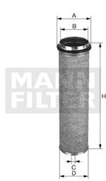 Filtro de Ar - Mann-Filter - CF1310 - Unitário