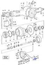 Placa de Bloqueio - Volvo CE - 4870445 - Unitário