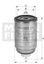 Filtro de Combustível - Mann-Filter - WK 842 - Unitário