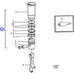 Kit de Reparação do Motor - Volvo CE - 276859 - Unitário