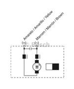 MOTOR DE VENTILAÇÃO - Bosch - 9130451238 - Unitário