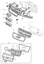 Grade interna do radiador sem acabamento - Original Chevrolet - 94703768 - Unitário