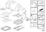 Kit de Absorção do Assento - Volvo CE - 17226605 - Unitário