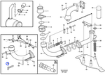 Braço de Direção do Tubo de Escape - Volvo CE - 11193212 - Unitário
