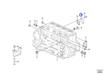 Flange - Volvo CE - 21180405 - Unitário