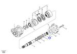 Anel do Motor do Ventilador de Refrigeração de Óleo - Volvo CE - 14512773 - Unitário