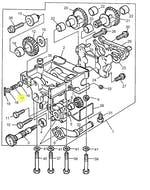 Mola de Aço do Balanceador - PERKINS - 3174D005 - Unitário