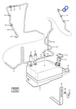 Esguicho do Lavador de Para-Brisa - Volvo CE - 1580247 - Unitário