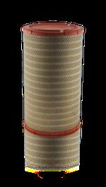 Elemento do Filtro de Ar - MAHLE - LX712 - Unitário