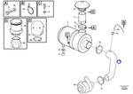 Mangueira da Admissão de Ar - Volvo CE - 11411950 - Unitário