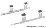 Ferragem Deslizante para Teclado TTS 082 BT Branco 350mm 12Kg