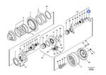 Anel de Fixação - Volvo CE - 7117-34440 - Unitário