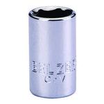 """Soquete de Encaixe 1/2"""" com Perfil Sextavado de 10mm - Belzer - 205001BBR - Unitário"""