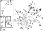 Escora de Segurança do Quadro de Elevação - Volvo CE - 16200427 - Unitário