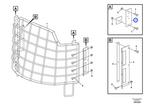 Andoragem da Proteção do Para-Brisa - Volvo CE - 11444425 - Unitário