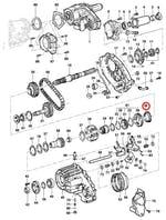 Anel-sincronizador da caixa de transferência - Original Chevrolet - 14071703 - Unitário