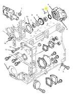 Anel de Vedação da Engrenagem - PERKINS - 2415B167 - Unitário